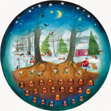 Adventskalender »Such mit mir die rechte Tür« Eva-Maria Ott-Heidmann