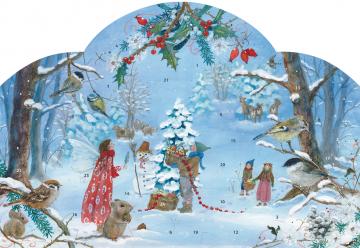 Adventskalender »Die kleine Elfe feiert Weihnachten« Daniela Drescher
