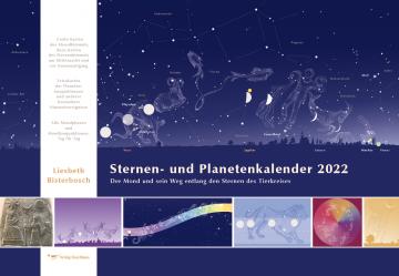 Sternen- und Planetenkalender 2022   Liesbeth Bisterbosch
