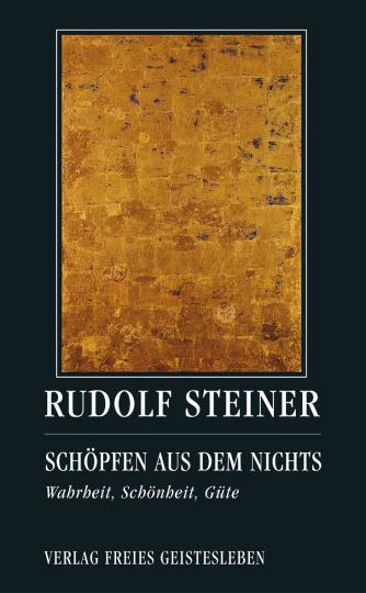 Schöpfen aus dem Nichts  Rudolf Steiner   Jean-Claude Lin