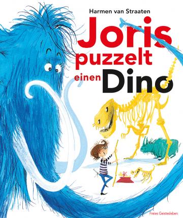 Joris puzzelt einen Dino  Harmen van Straaten