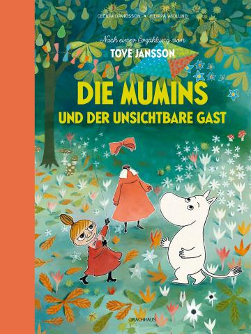 Die Mumins und der unsichtbare Gast  Cecilia Davidsson ,  Tove Jansson    Filippa Widlund