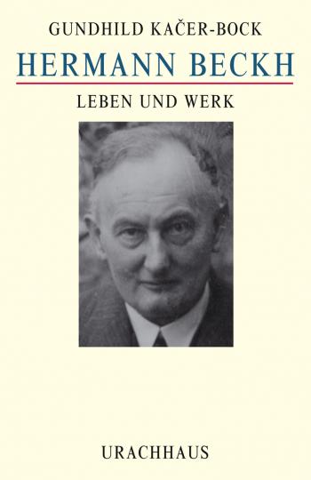 Hermann Beckh  Gundhild Kacer-Bock