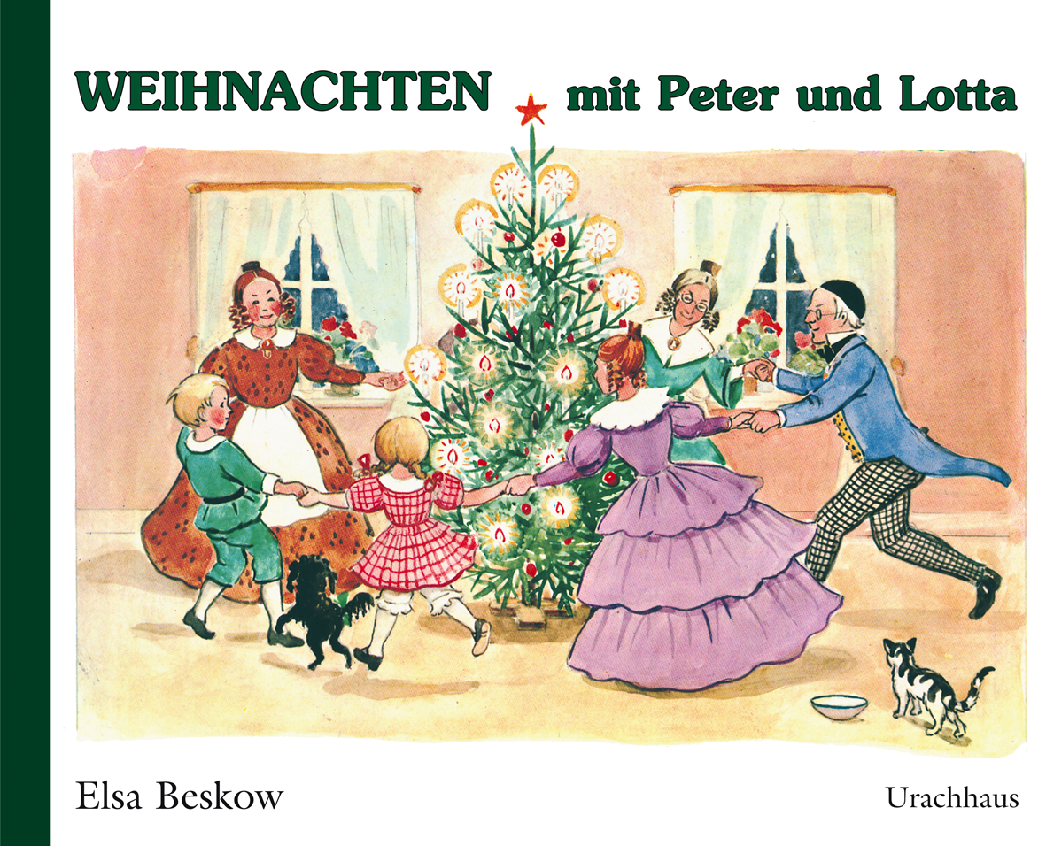 weihnachten mit peter und lotta verlag urachhaus. Black Bedroom Furniture Sets. Home Design Ideas