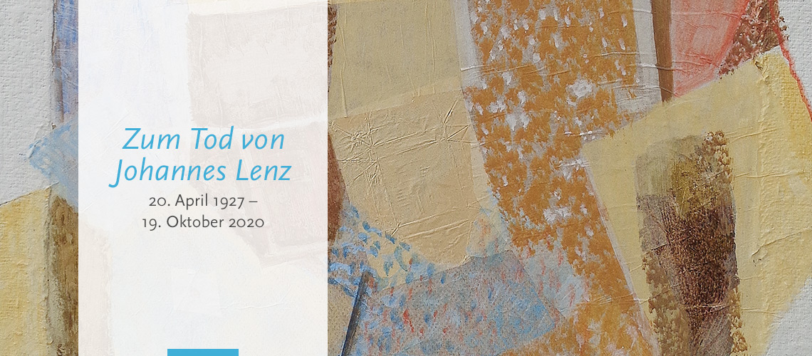 Zum Tod von Johannes Lenz